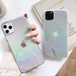 NEW iPhone 11/Pro/Max/XR/X/XS  Rainbow Hard case